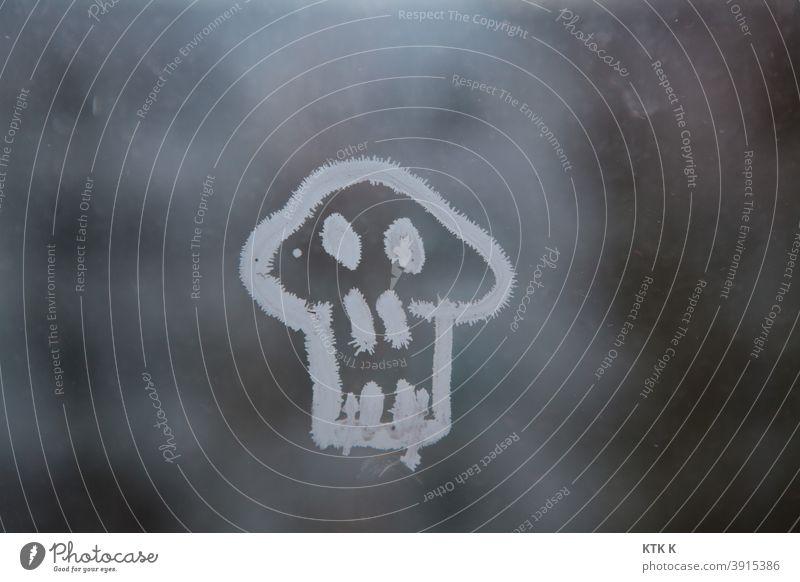 Skull - frozen Death Life Crystal Chalk Death's head sketch kind White Head skull eyes Pirate