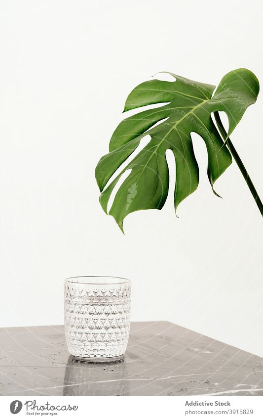 Glass of water on marble table glass fresh drink beverage mineral natural full clear liquid thirst healthy hydrate refreshment clean pure aqua product wellness
