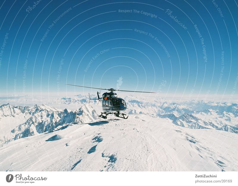 Heli on ice Helicopter Electrical equipment Technology Eurocopter Mountain Snow Aviation