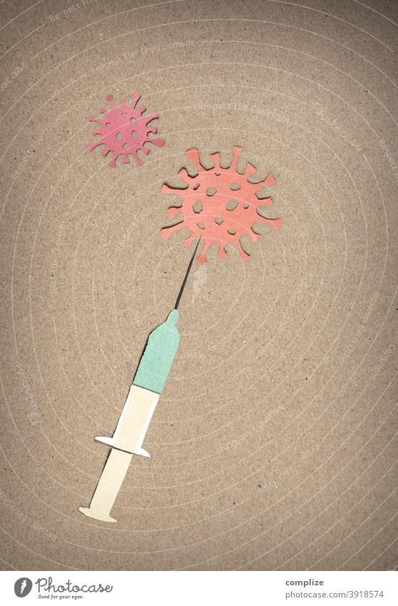 Vaccination against corona virus | silhouette Immunization inoculate sb. vaccine creatively Fluid medicine flu Virus Virus infection covid-19 coronavirus
