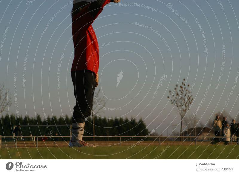 Sports Boy (child) Soccer Football pitch Goalkeeper