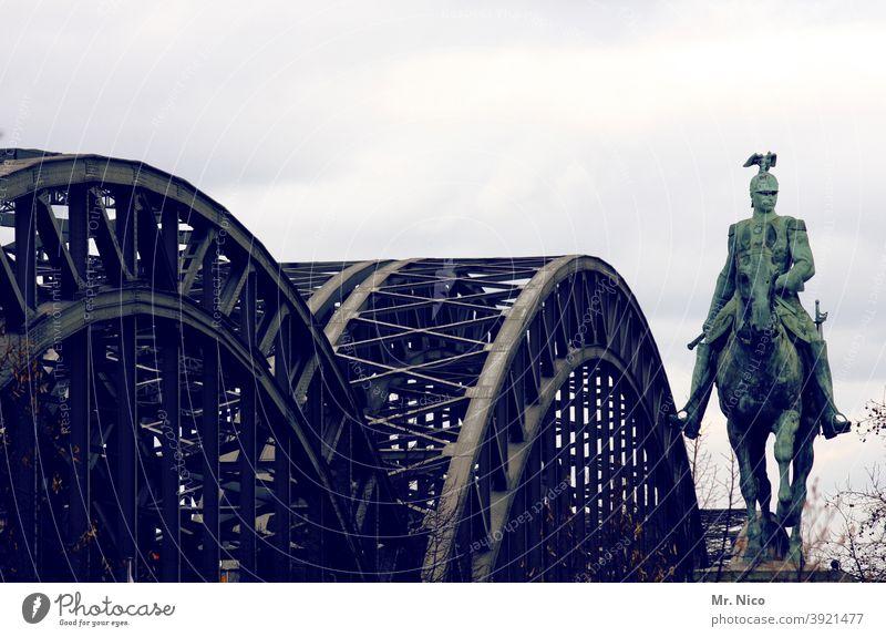 Contemporary History I Kaiser Wilhelm II Monument Statue Rider Horse Sky Equestrian statue Landmark equestrian monument Tourist Attraction Historic Sculpture