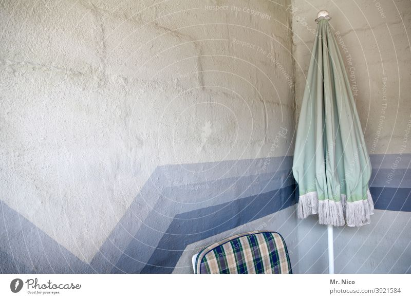 storeroom Sunshade Wall (building) Wall (barrier) Chair seat cushion Blue Corner Structures and shapes Pattern Line Facade Abstract Design Stripe Illustration