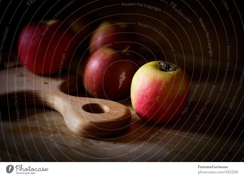 Healthy Eating Wood Bright Food Fruit Dish Nutrition Food photograph Sweet Kitchen Illuminate Apple Breakfast Organic produce Wooden board