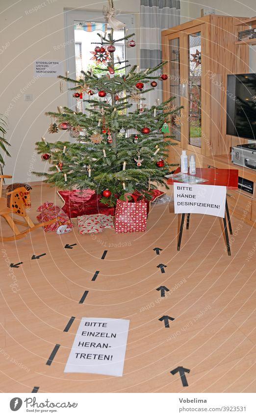 Christmas tree in times of Corona corona christmas tree covid 19 covid19 pandemic bumper to bumper Firm celebration Living room christmas ornaments