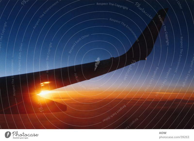 Düsseldorf-Granada Airplane Spain South Longing Aviation Sun Vacation & Travel