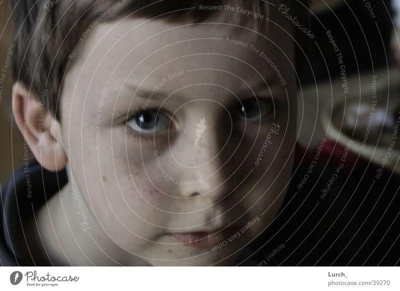 Joseph S. Portrait photograph Children's eyes Face Head big eyes