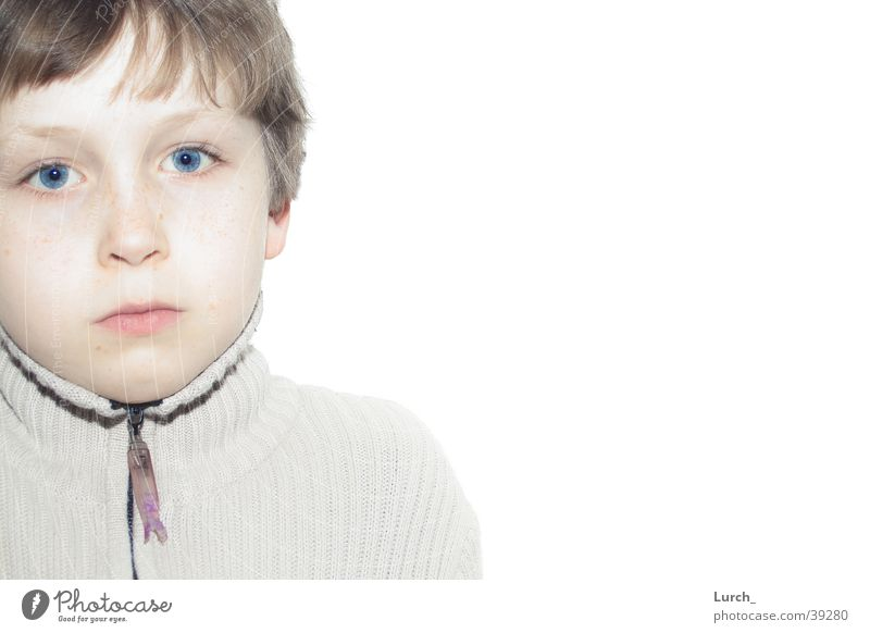 blue eyes Portrait photograph Child Joseph B.