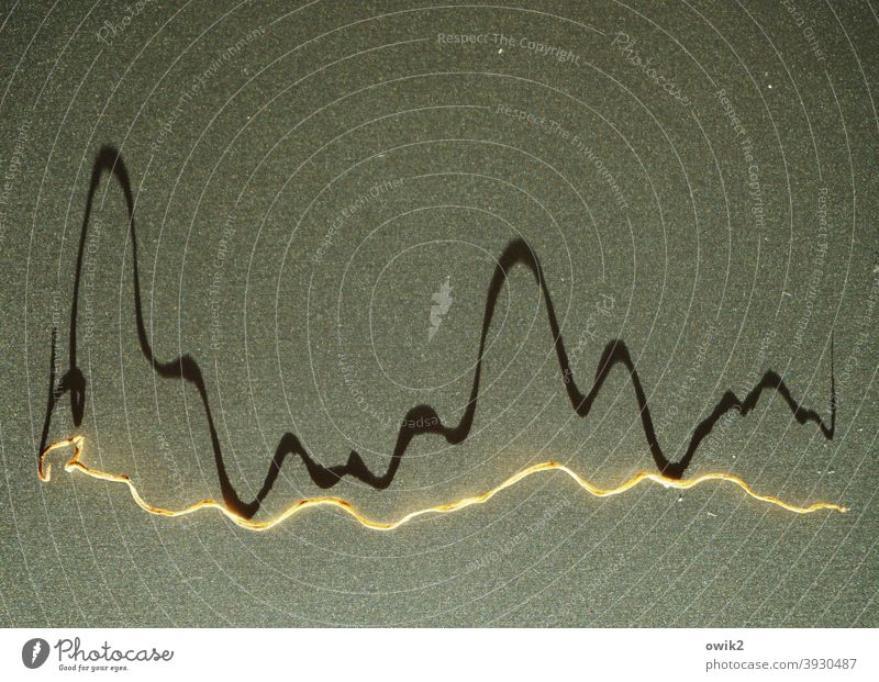 slalom Curve Zigzag Abstract Pattern Colour photo Deserted Structures and shapes Illustration Graphic Detail Geometry Line Design Background picture Sharp-edged