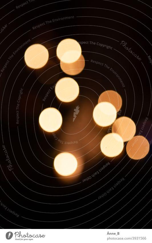 Are the lights lit - candlelight blurred Lights blurred clearer Christmas Lighting Candlelight Christmas tree warm Christmas & Advent Night Illuminate
