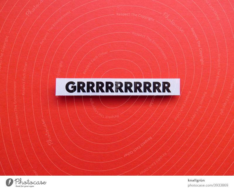 Grrrrrrrrrrrr Growl Dangerous Threat Animal Noise peril Fear Aggression Wild animal Fear of death Attack Warn Letters (alphabet) Word leap letter Characters