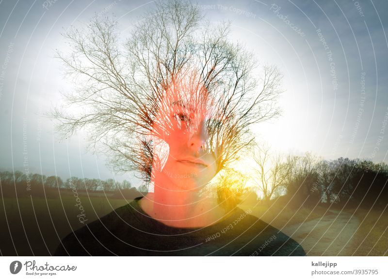 Boy, boy Boy (child) more youthful teenager teenage years Nature Creativity portrait Double exposure Lanes & trails Future thoughts Exterior shot Colour photo