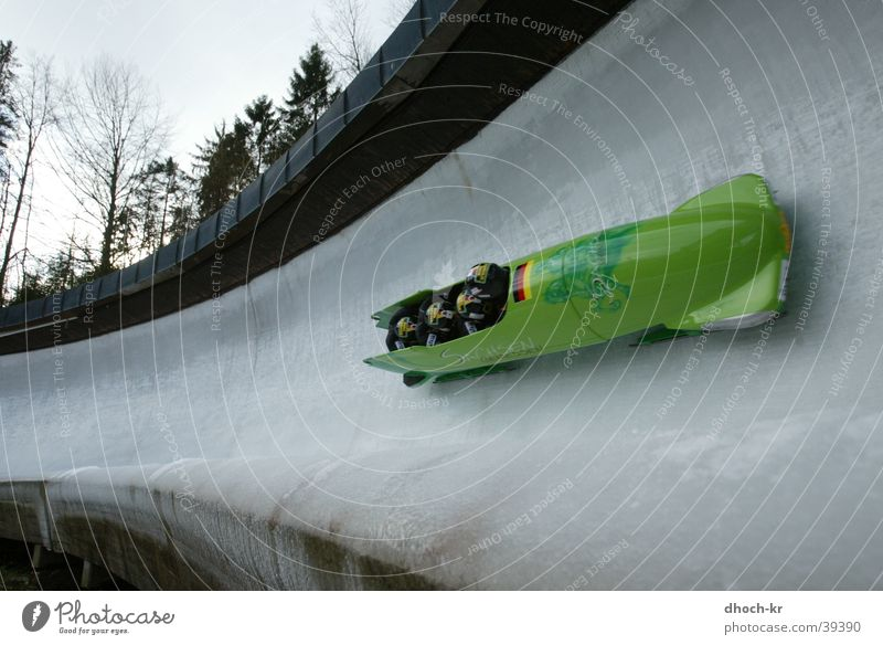 Sports Bobsleigh Blade Extreme sports Toboggan run