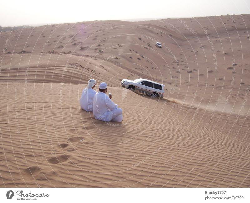 desert rally Dubai Break Safari Hot Arabien Offroad vehicle Dust Summer Asia Desert Sand Beach dune Sun jeep emirates