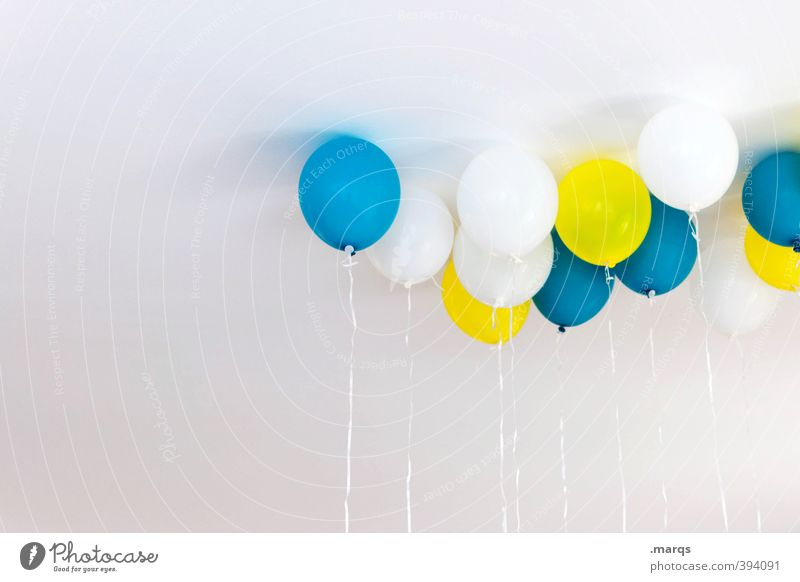 Blue Beautiful White Colour Joy Yellow Feasts & Celebrations Party Friendship Flying Infancy Contentment Lifestyle Birthday Design Happiness