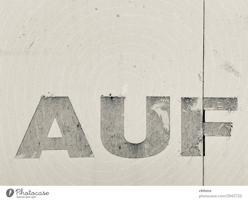 Up on Word Close-up Letters (alphabet) Typography Sign Characters lorry tarpaulin Old Weathered Monochrome Deserted Signs and labeling Text