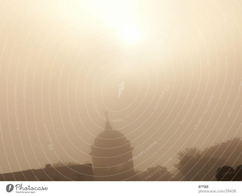 Fog Cathedral Magdeburg