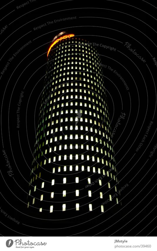 Jena@Night Intershop High-rise Round Architecture architect Modern