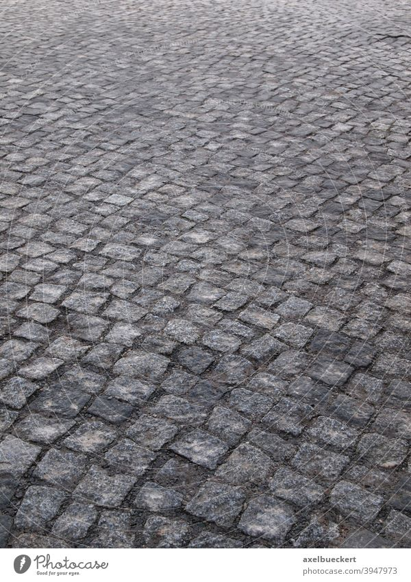 cobblestones Cobblestones Street paving Pavement Paving stone Abstract paved Gray Pattern Stone Lanes & trails Traffic infrastructure Deserted