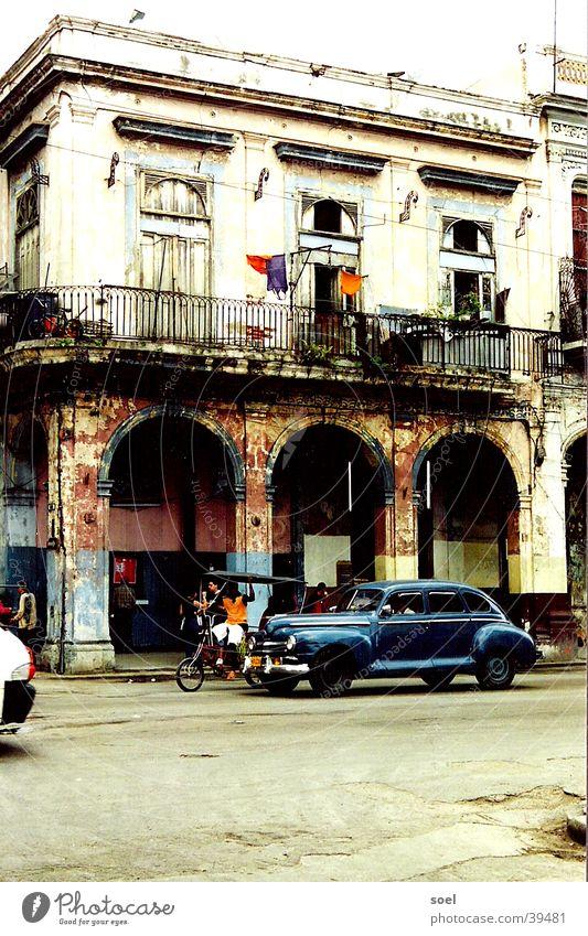 City Street Cuba Central America