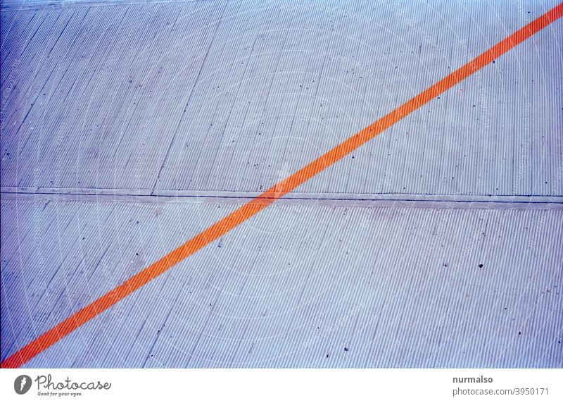 Sync and corrections by n17t01 dash characteristics lock Concrete mark Orange Across diagonal Gray symbol interdiction Warn abstract kunster shape instant