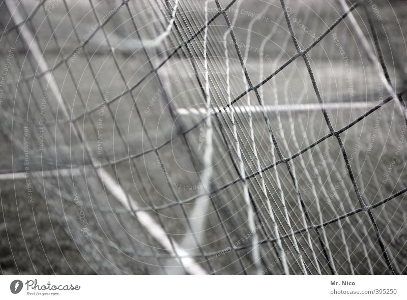 TorTor Leisure and hobbies Sports Ball sports Soccer Foot ball Football pitch Whimsical Net Soccer Goal Double exposure Security of supply intertwined goal Knot