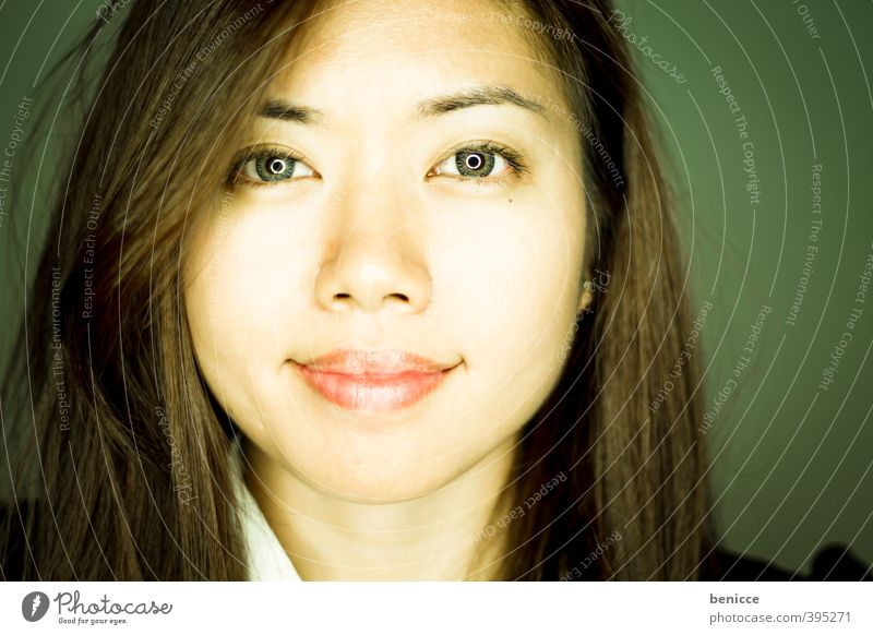 Human being Woman Face Laughter Business Smiling Asia Workshop Asians Frontal Businesswoman