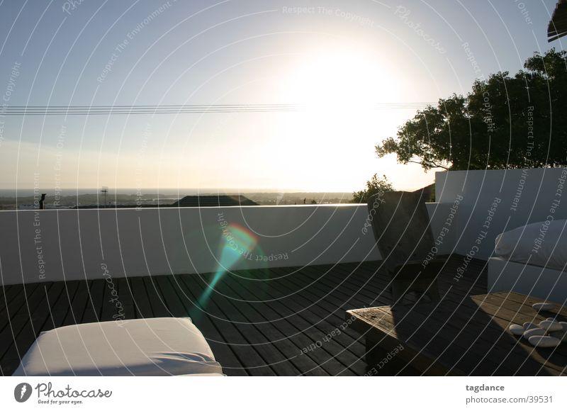 Sunset in False Bay Cape Town Sun deck Contentment Relaxation Horizon Coast