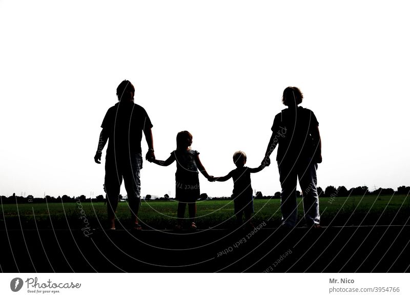 Family ! Family & Relations Family outing Domestic happiness Side by side group Harmonious Happy Related Attachment stick together Light and shadow
