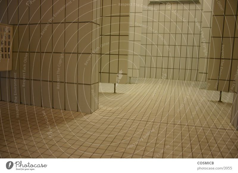 Architecture Perspective Clean Pure Tile Shower (Installation)