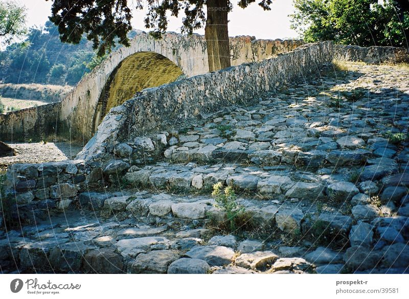 StairsFlower Greece Crete Tree Light Vacation & Travel Back-light Europe Bridge Sun Shadow
