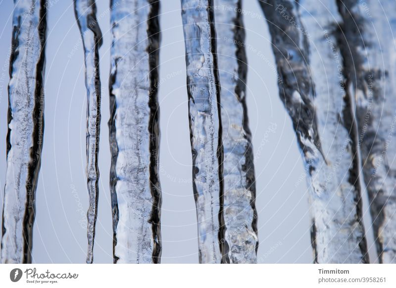 Icicle (1) Ice Winter Cold Frost chill Blue White Sky