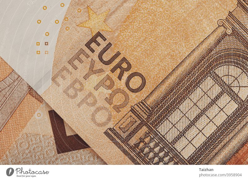 50 euro banknotes, close up . Paper Money banking economy exchange finance investment money pay payment currency background buy commerce commercial debt