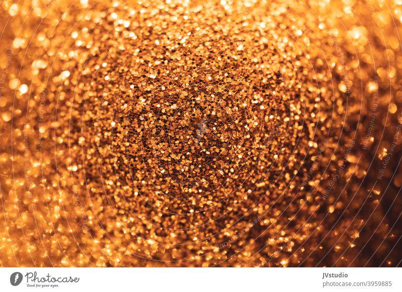 Golden texture sparkling Christmas & Advent visualization Graphic golden background bright glitter luxury