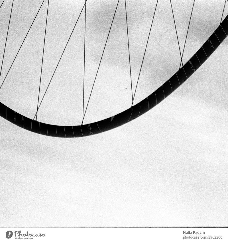 Bridge arch upside down Analog Analogue photo Black & white photo black-and-white Architecture Exterior shot The Ruhr bridge arch Arched bridge Metal