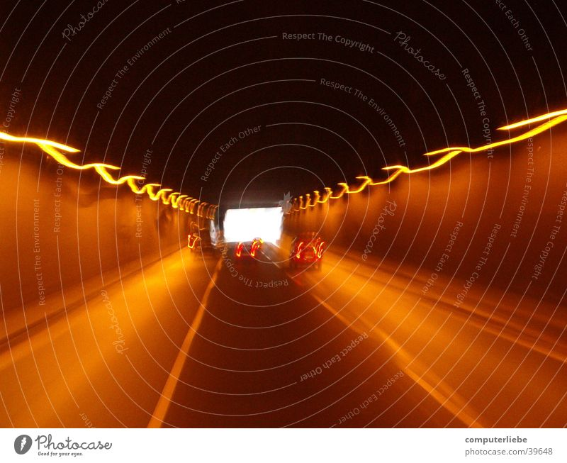 tunnel vision Cologne Truck Profession Motion blur Transport A57