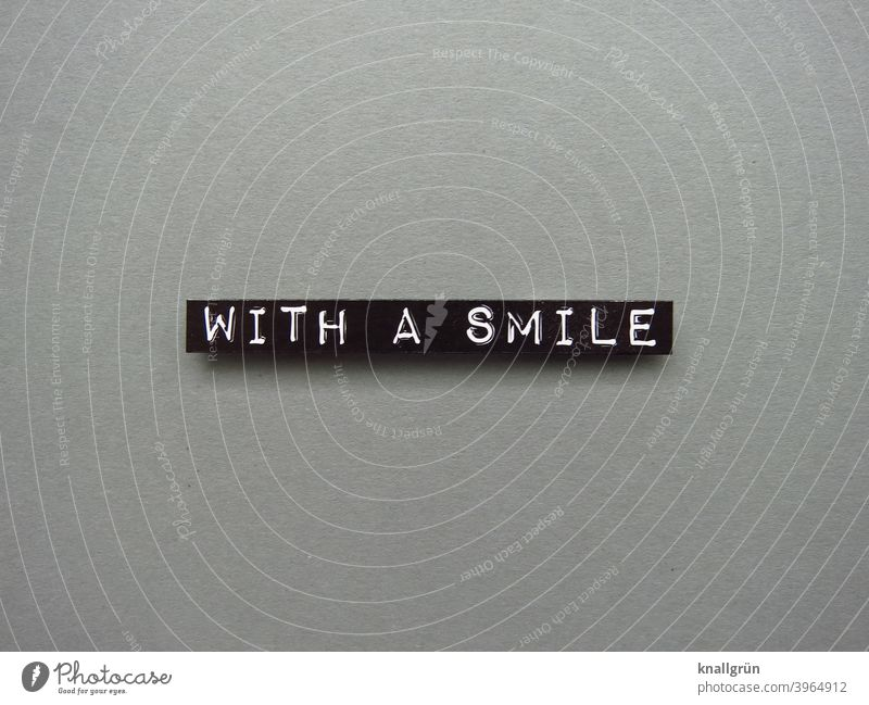With a smile Smiling Joy Friendliness Happiness Happy Joie de vivre (Vitality) Laughter Human being Contentment Positive Moody bite teeth together Contenance