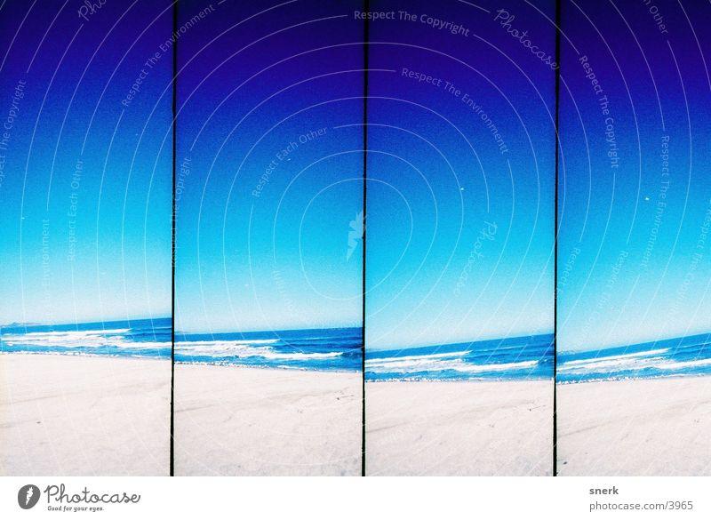 beach Beach Water Blue Sand