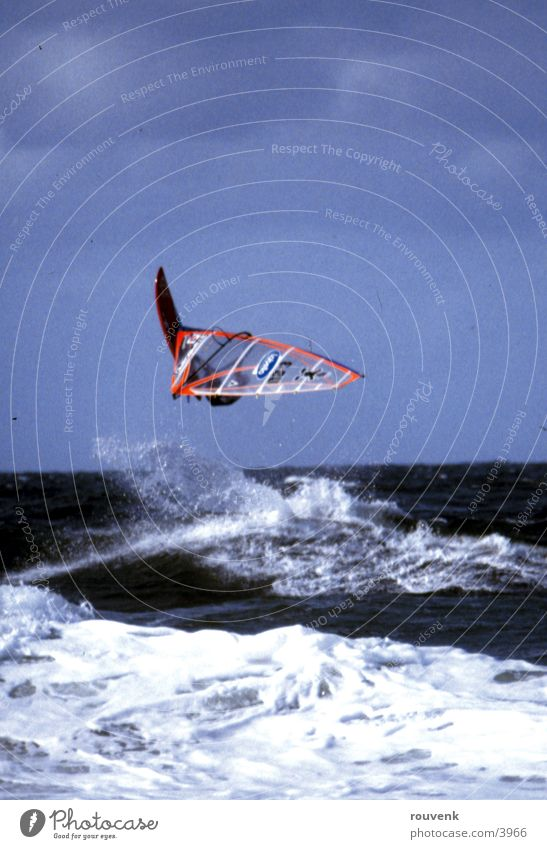 Surf World Cup Sylt 2003 Surfer Waves Ocean Sports Wind Sun