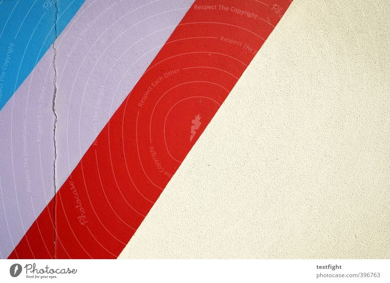 Blue Red Wall (building) Dye Wall (barrier) Line Concrete Stripe Violet Composing