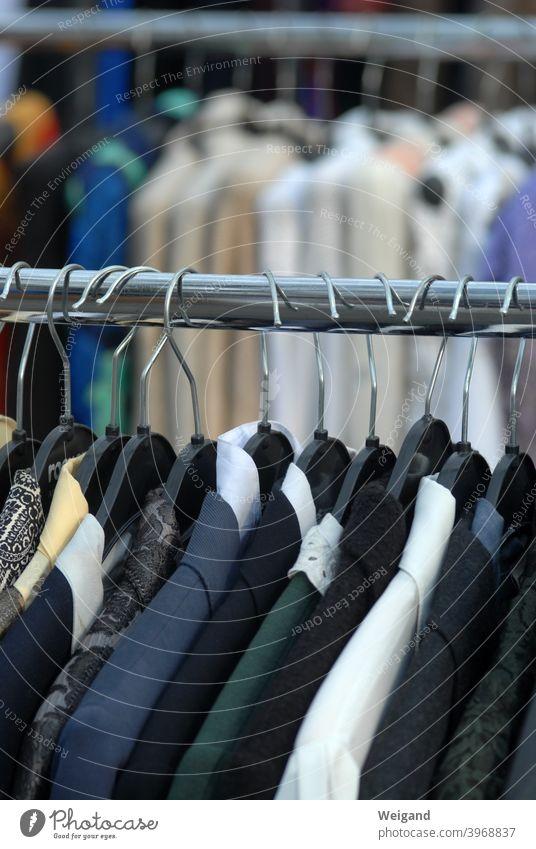 second-hand clothes dresses Clothes vintage Hanger hangers Flea market second hand Suit Markets rummage