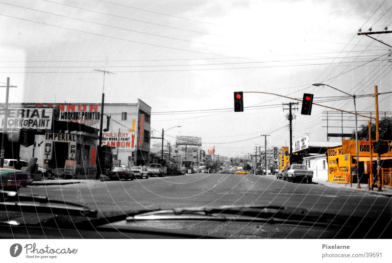 City Vacation & Travel Street Car Store premises Traffic light Mexico