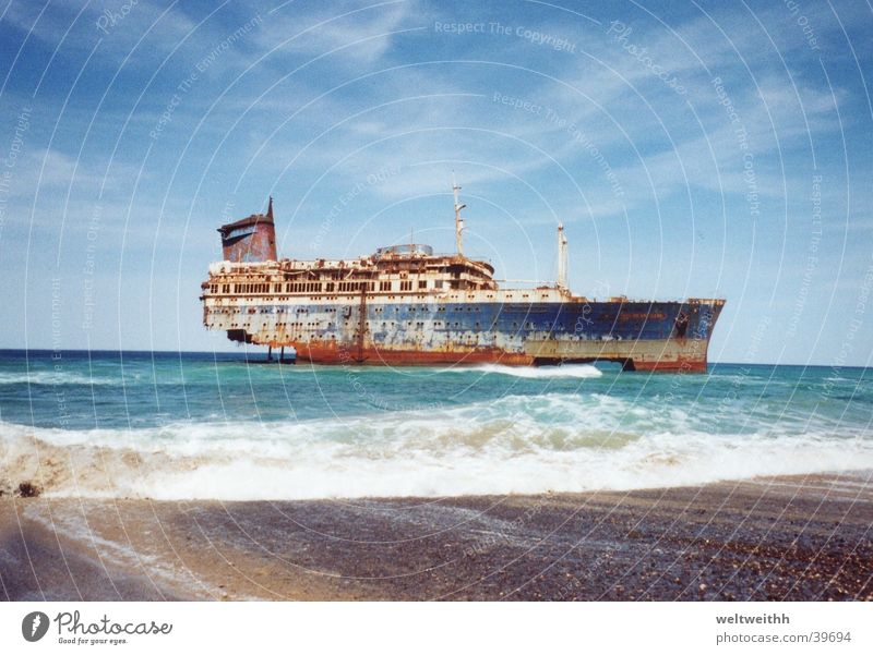 American star Fuerteventura Europe Wreck