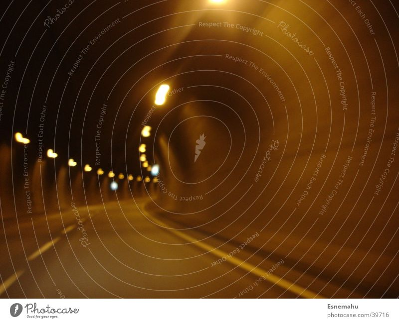 Street Lamp Wall (building) Movement Car Signs and labeling Transport Tunnel Acceleration
