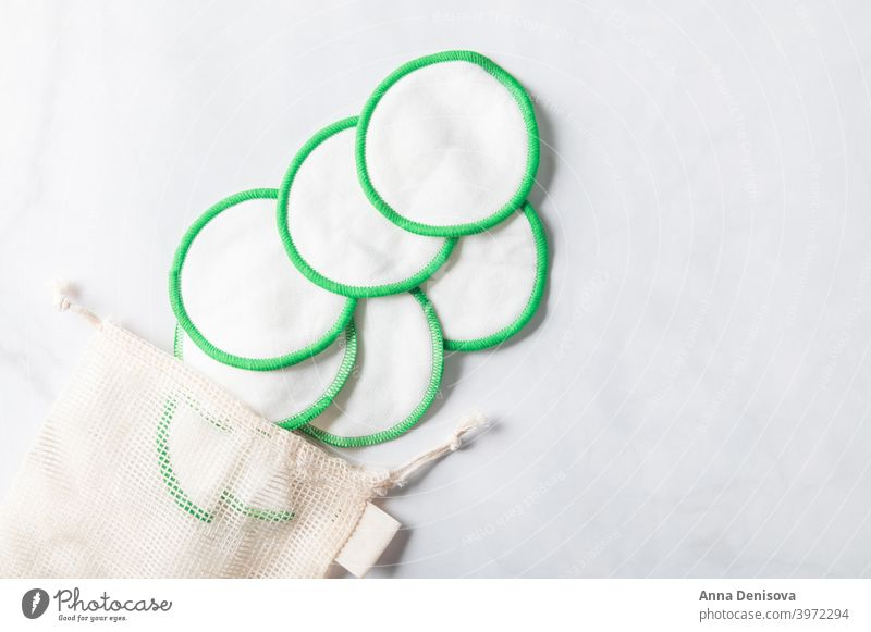 Reusable Makeup Remover Pads pads make-up remover pads reusable cotton removal lifestyle eco ecological cosmetics sustainable washable less waste no plastic