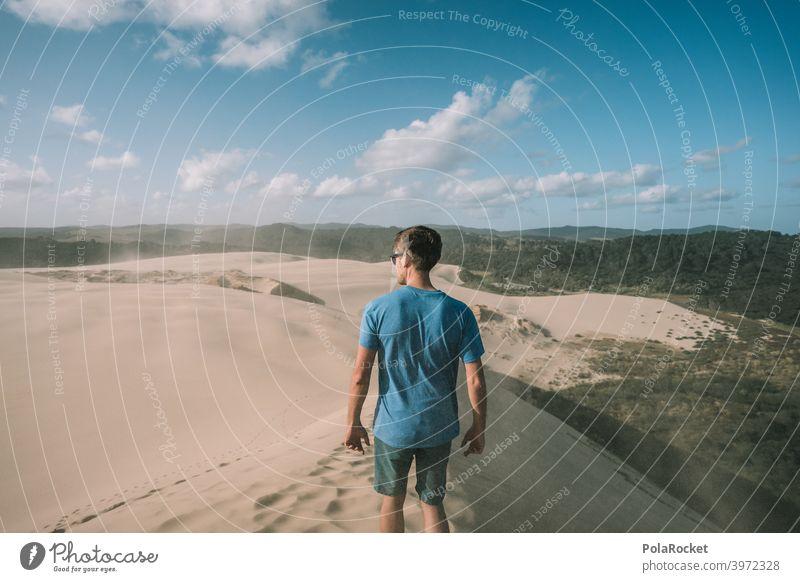 #AS# Power of Sand II Desert duene Wind Waves Beach Beach dune Vacation & Travel Ocean coast Nature desert landscape desert sand Desert road dune landscape Sky