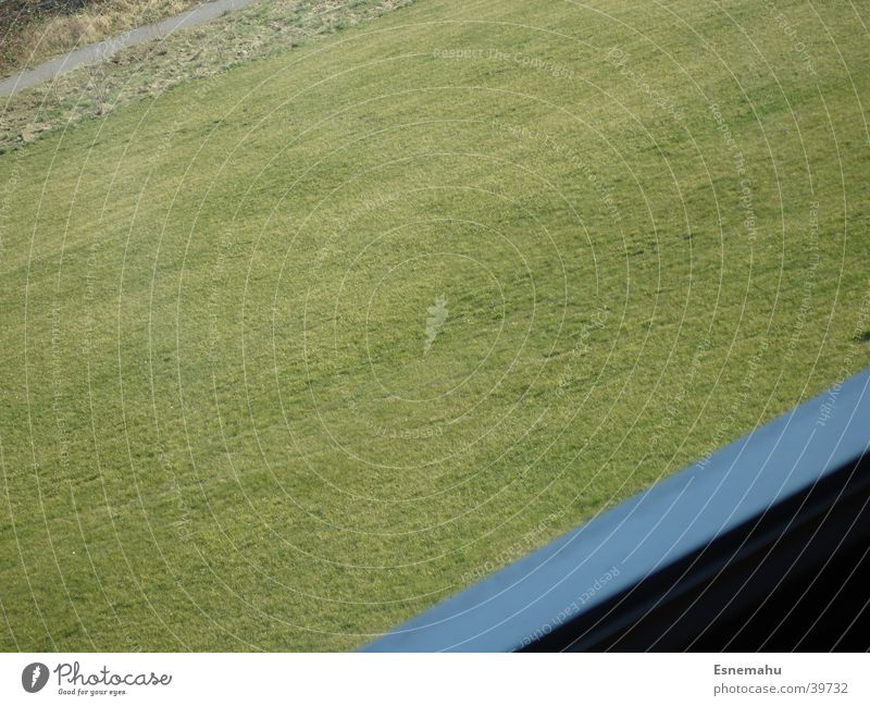 Blue Green Colour Window Grass Lanes & trails Stone Stripe Lawn Diagonal Frame Tilt Window frame