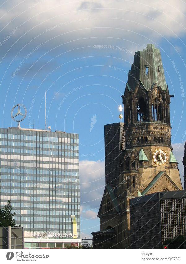 Berlin Architecture Sightseeing Charlottenburg Kurfürstendamm Gedächtnis Kirche