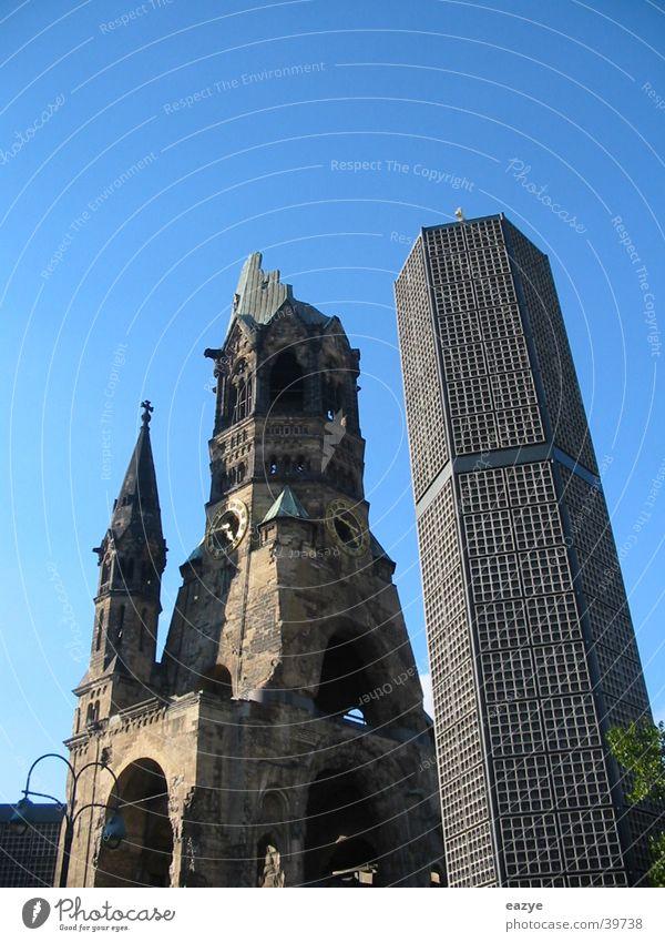 Berlin Religion and faith Architecture Sightseeing Charlottenburg Kurfürstendamm Gedächtnis Kirche