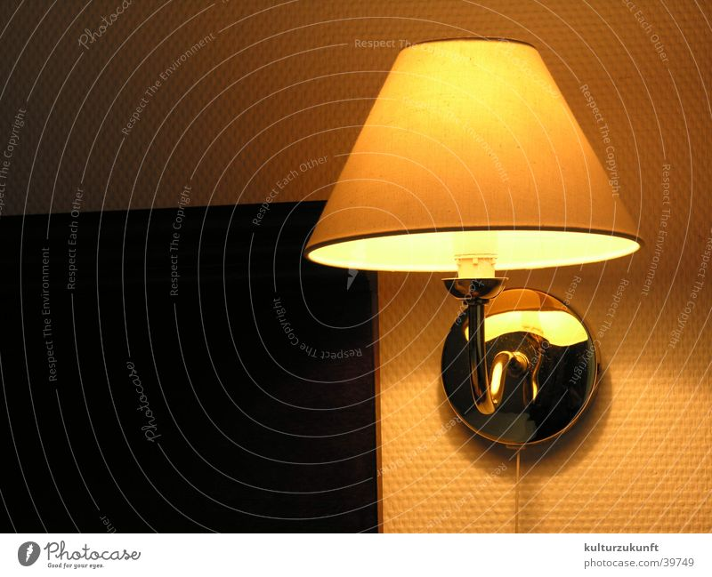 The Lamp Light Hotel Room Sleep Physics Night Yellow Living or residing Light (Natural Phenomenon) Warmth